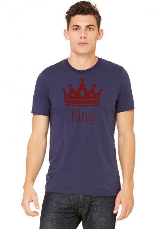 king 15 white Tshirt