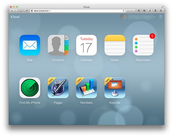 track my iphone on icloud