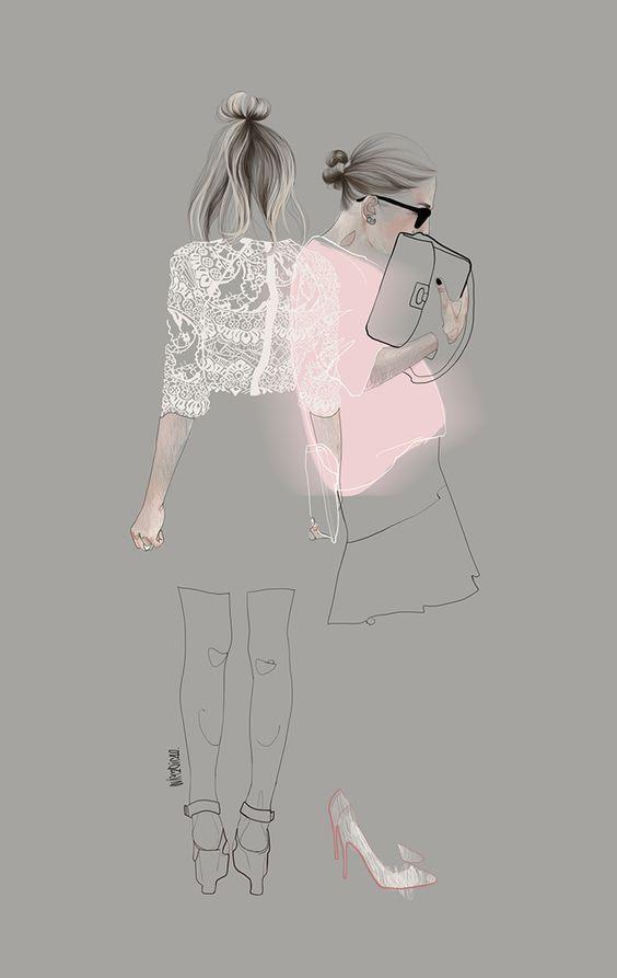 Fashion Illustration | Fashion sketch | Fashion Design | Mode Illustration