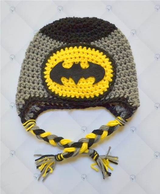 Crochet Pattern Batman Hat : crochet batman hat pattern - Bing Images Crochet ...