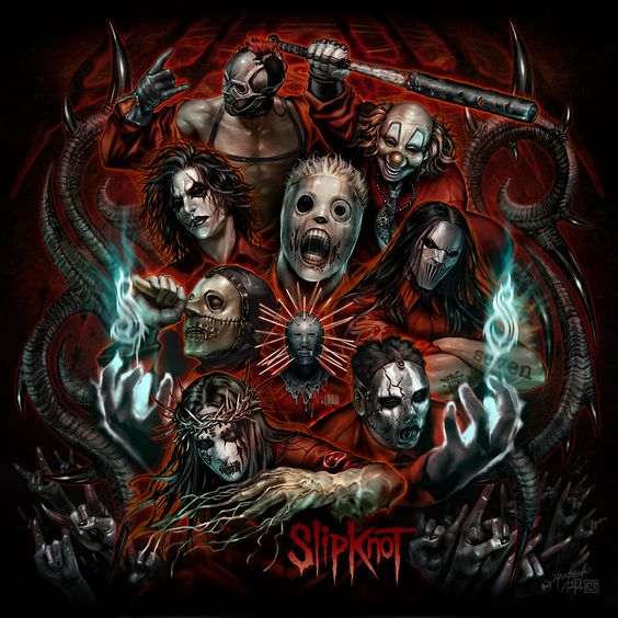 Slipknot, Fan art and Art posters on Pinterest