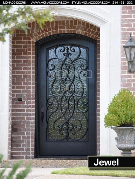 Iron door manufacturer iron doors and gates for the for Front door manufacturers