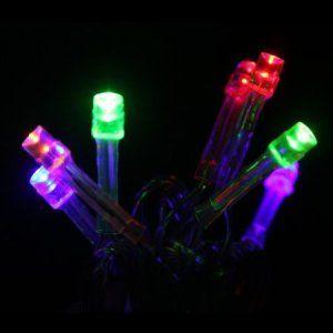 Innoo Tech 220V 10M Guirlande lumineuse à 100 LED lampes, utilisation en extérieur ou en intérieur avec 8 modes de fonction (Multicolore)