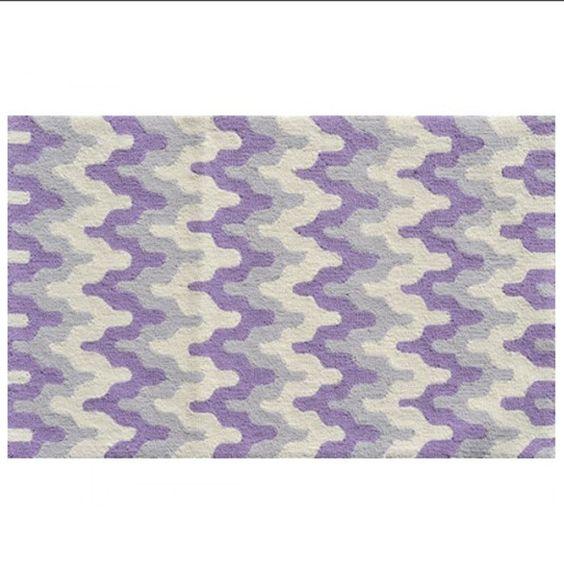 Surge Purple Rug