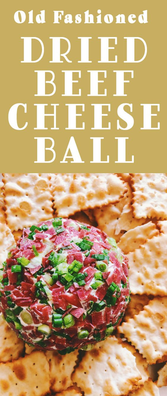 The Best Dried Beef Cheese Ball Recipe Grilled Cheese Social Recipe Cheese Ball Recipes Cheese Ball Making Grilled Cheese