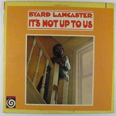 Byard Lancaster - It's Not Up To Us LP - Vortex VG https://t.co/BzQmpCM5JY https://t.co/j3UK9lOQSW