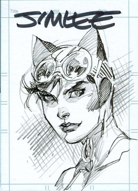 Jim Lee - Catwoman Card