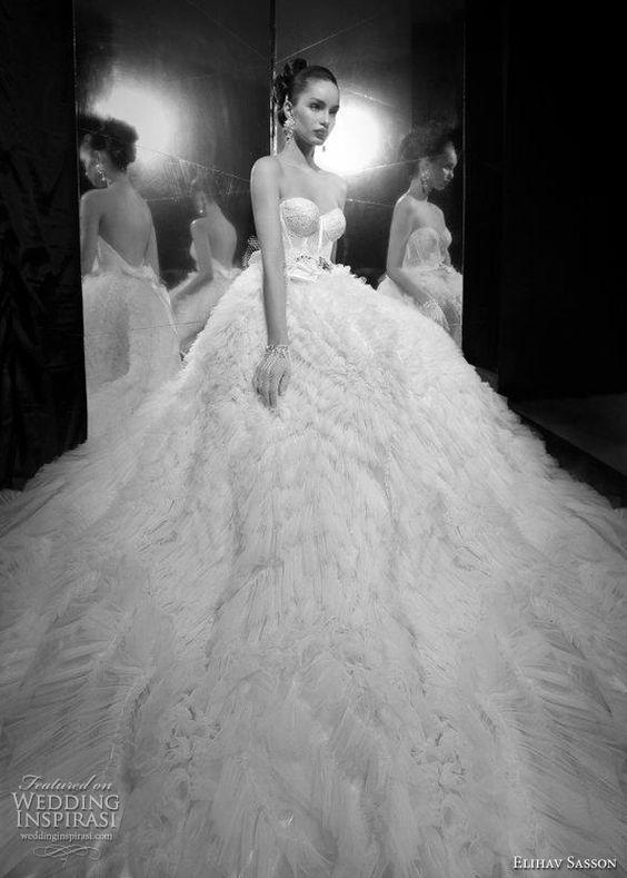 Elihav Sasson 2012 bridal collection