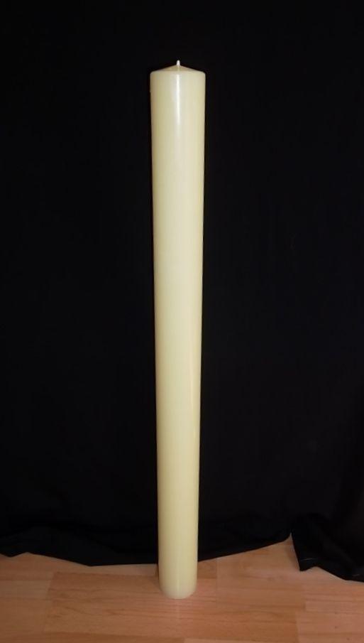Giant 36 Inch Tall Church Pillar Candle With 10 Beeswax Pillar