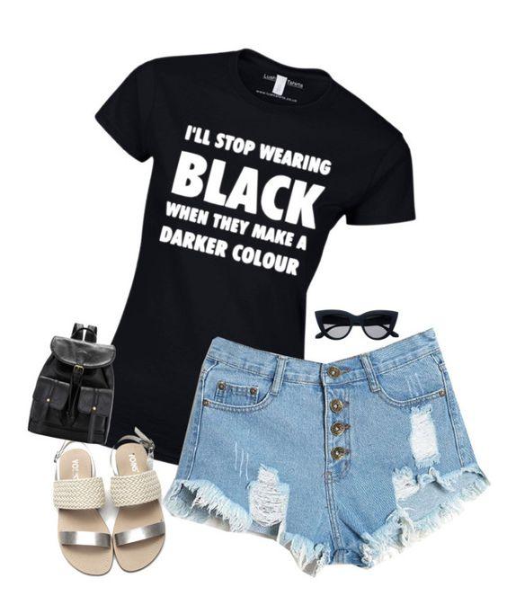 """I love this shirt"" by kiara-tuggle ❤ liked on Polyvore"