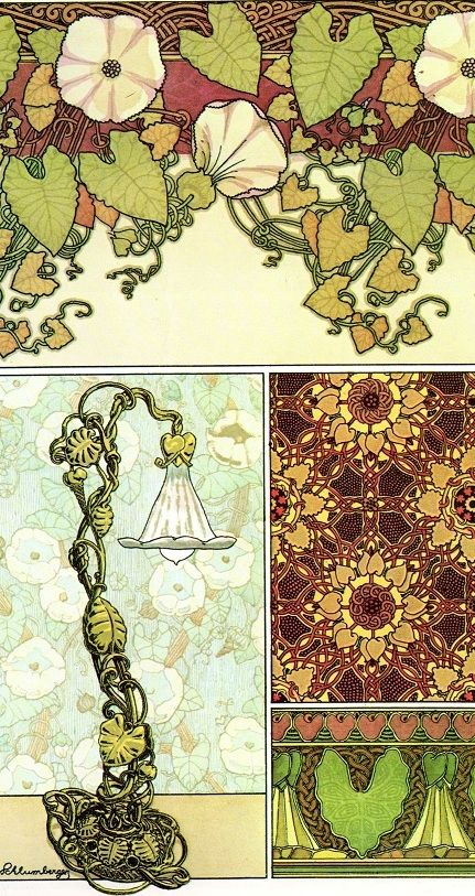 art nouveau pattern - Google Search