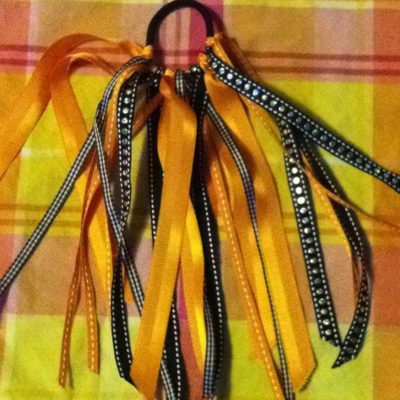 Softball Hair Ribbons......