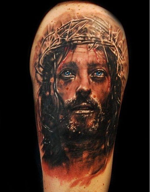 Pin On 3d Tattoo Of Jesus