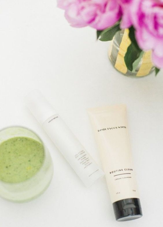 Add some natural skincare products to your beauty regimen.