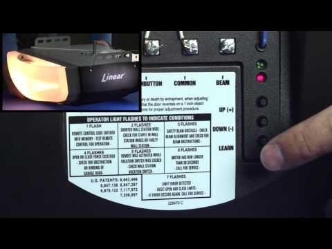 Linear Ldco800 How To Program Delete Remotes Transmitters Keypad Codes Youtube Garage Door Opener Garage Doors Garage Door Controller