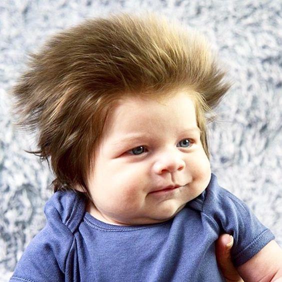 Bom dia!! Este é Cox-Noon e com pouco mais de 2 meses ele é provavelmente o bebê mais cabeludo do mundo! A família dele é do Reino Unido e sua mãe é cabeleireira (ufa ainda bem). Ela afirmou que Cox adora ficar com os cabelos soltos e reclama sempre que tentam colocar um chapéu nele #instakids #bomdia #goodmorning #bebecabeludo #curiosidades