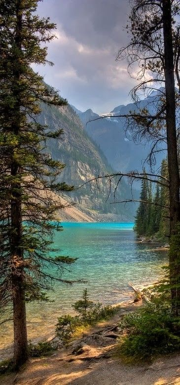 Moraine Lake in Banff National Park ~ Alberta, Canada.