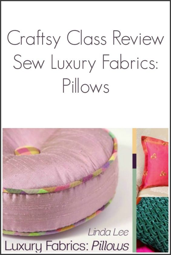 Craftsy Class Review Sew Luxury Fabrics from NewtonCustomInteriors.com