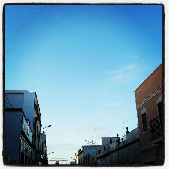 Cielo de invierno en #AlcalaDeGuadaira