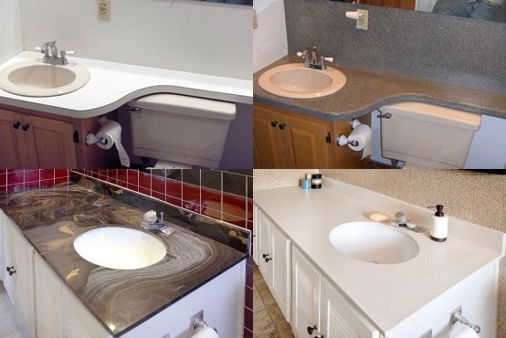 Diy Countertop Refinishing Tips And Tricks To Renew The Counter