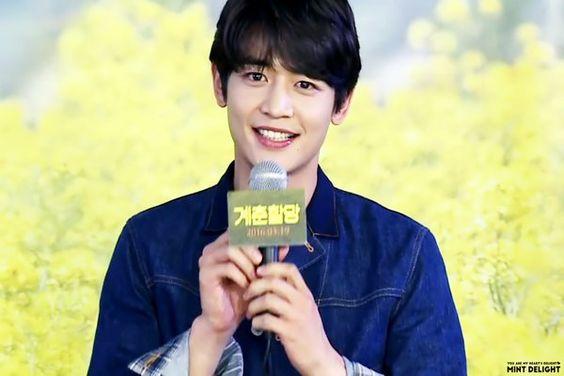 160502 #Minho - 'Canola' Movie Talk Live on V App. #Shinee