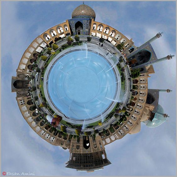 https://flic.kr/p/23nxRt | IRAN ; Naghsh-e-jahan Planet | This is one of my experience that was too time consuming for me ... 1 hour for take photos , 2-3 hours for learning and training and 2-3 hours for creating and editing ... But I think the result not too bad !!!  Special thanks to dear hamed for help and guide me ...