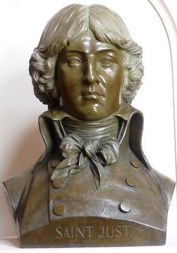 buste de Saint-Just à Blérancourt