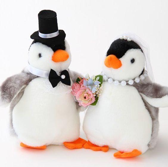 【楽天市場】☆ウェルカムドール ペンギン☆ぬいぐるみ 結婚式【送料無料】:J.Dコーポレーション