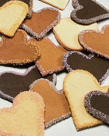Chocolate Cookies: scroll down to the recipe review to find how to make cookies different colors.