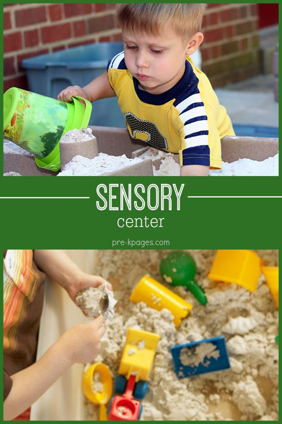 Sensory Table Ideas for Your Preschool or Kindergarten Classroom.