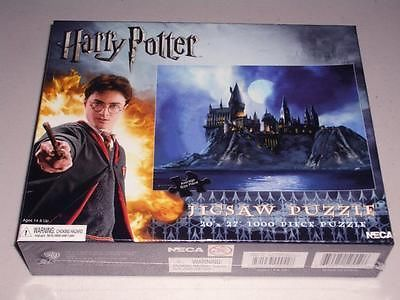 harry potter hogwarts castle 1000 pc jigsaw puzzle by neca. Black Bedroom Furniture Sets. Home Design Ideas