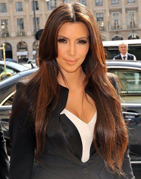 Nette Frisuren Fur Lange Glatte Haare Frisuren Frisur Haar Models Hair Models Kim Kardashian Hair Kardashian Hair Color Kardashian Hair