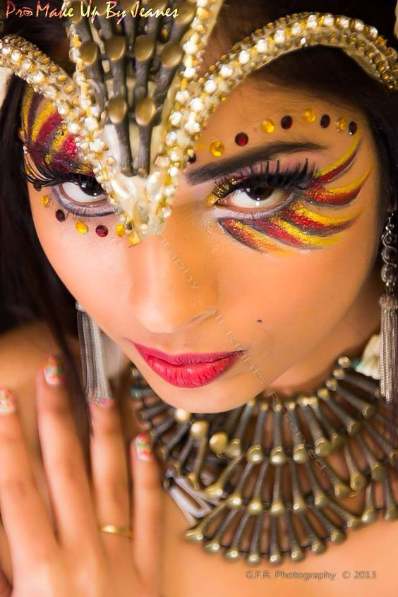 Carnival makeup by Pro Make Up By Jeanes Trini girl