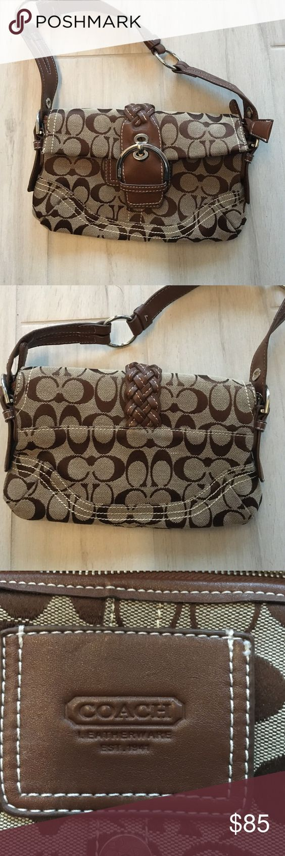 Brown COACH handbag 👜 Never used ⭐️ Brown COACH handbag! Coach Bags