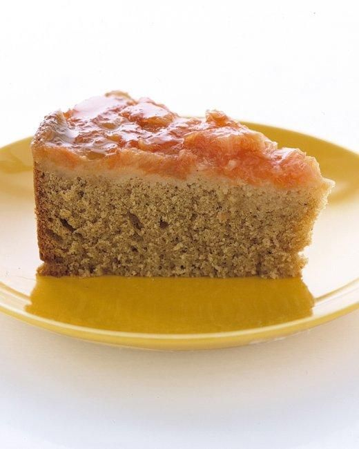 Grapefruit Upside-Down Cake Recipe