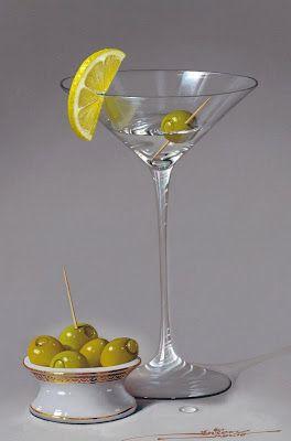 Cuadros jarrones y copas de cristal frutas y bodegones - Frutas de cristal ...