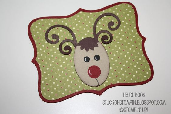 Rudolph Gift Card Holder  by Heidi Boos