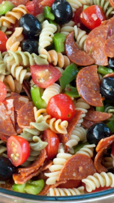 Classic Italian Pasta Salad Recipe Summer Dinner
