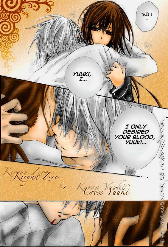 Vampire Knight - Zero and Yuuki <3