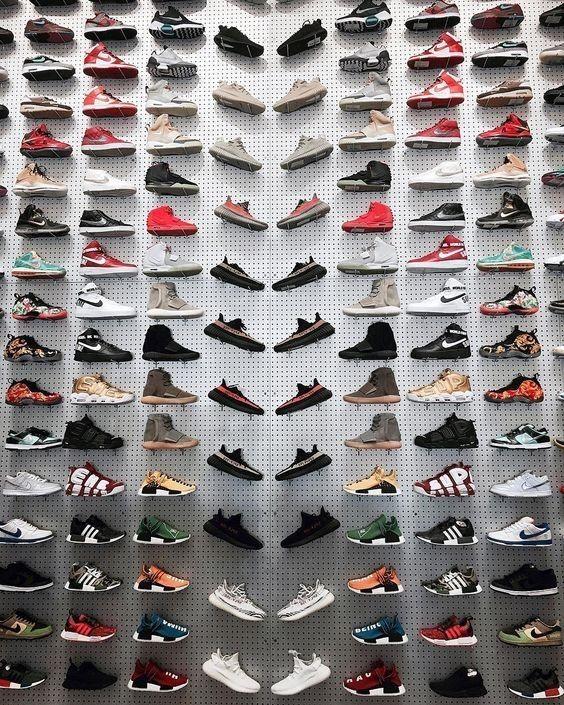 Shoe store design, Hype shoes