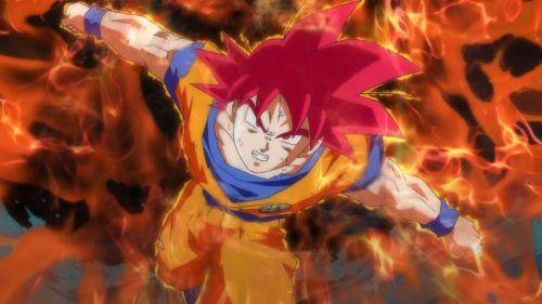 Son Goku Super Saiyan God Dragon Ball Z Battle Of Gods Wallpaper