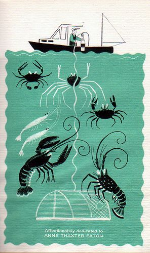Dahlov Ipcar, 1961- Crabs, Shrimp & Lobster