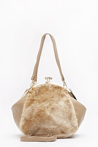 Faux Fur Twin Flap Bag Coffee Lovely And Snuggly Handbags Children Bags Tote Satchel Across Body Patent Pvc Leather Pinterest