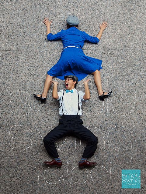 Simply Swing Taipei's fun photo shoot from above, spreading the joy of swing dancing in Taiwan! If you want to learn how to swing dance, Lindy Hop is the place to start!  https://www.flickr.com/photos/pu-tai/15230291906/in/set-72157647238258259