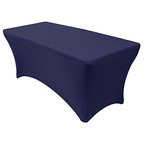 6 Ft Spandex Fitted Stretch Tablecloth Rectangular Table Https