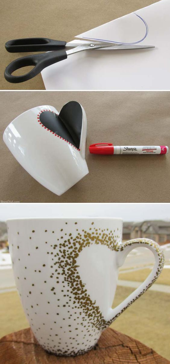 How to Make Sharpie mug tutorial.: