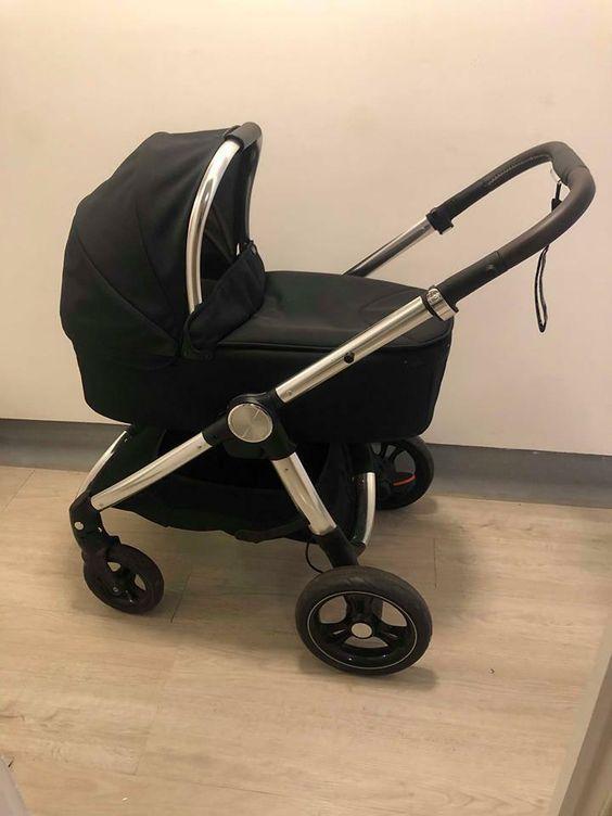 Baby Stroller High View Pram One Step Fold Lightweight Convertible Baby O8A3