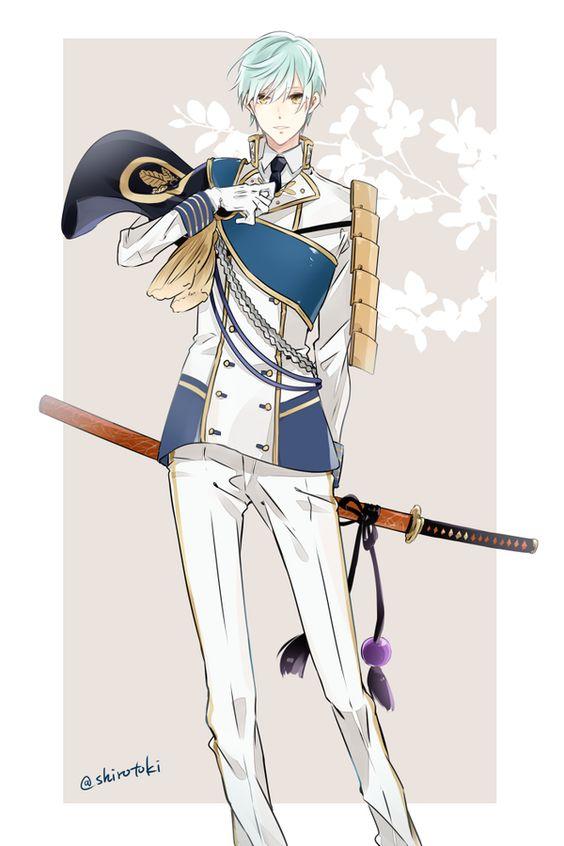 白い王子様の刀剣乱舞