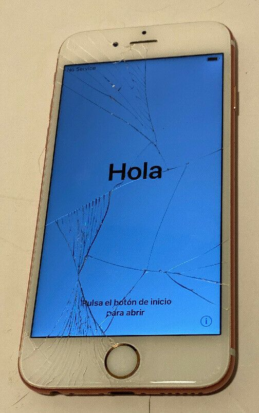 Apple Iphone 6s 32gb Rose Gold At T A1633 Clean Esn Cracked Screen Works Apple Bar Apple Iphone Apple Iphone 6s Iphone