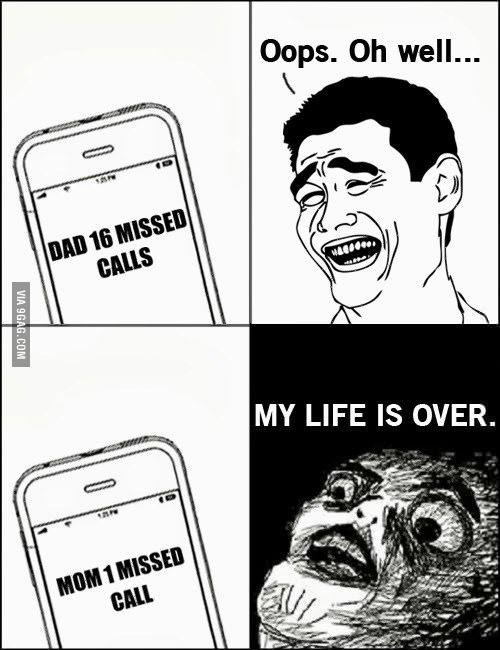 The missed calls